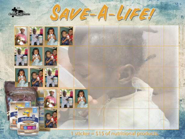 Save-A-Life! Chart-w-stickers
