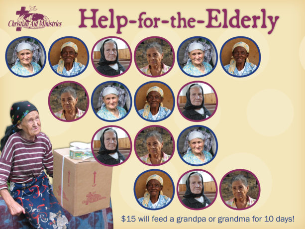 Help-for-the-Elderly Chart with stickers