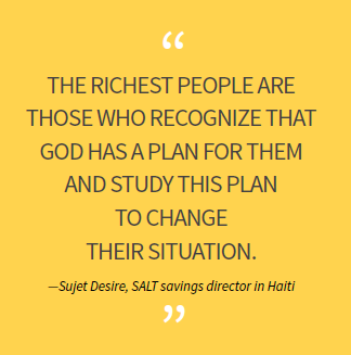 The richest people are those who recognize that God has a plan for them and study this plan to change their situation.