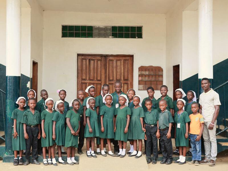 Schools, Children, Liberia