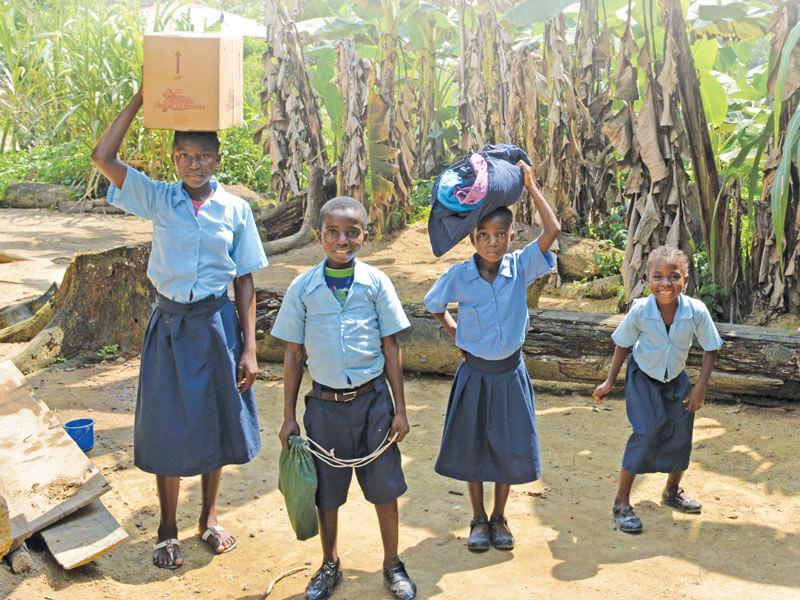Children, Orphan, Liberia