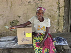 Support-A-Widow Food Parcels are a Big Help