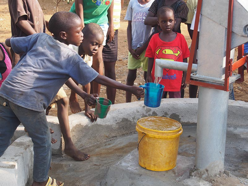 Donate, Water-for-the-World