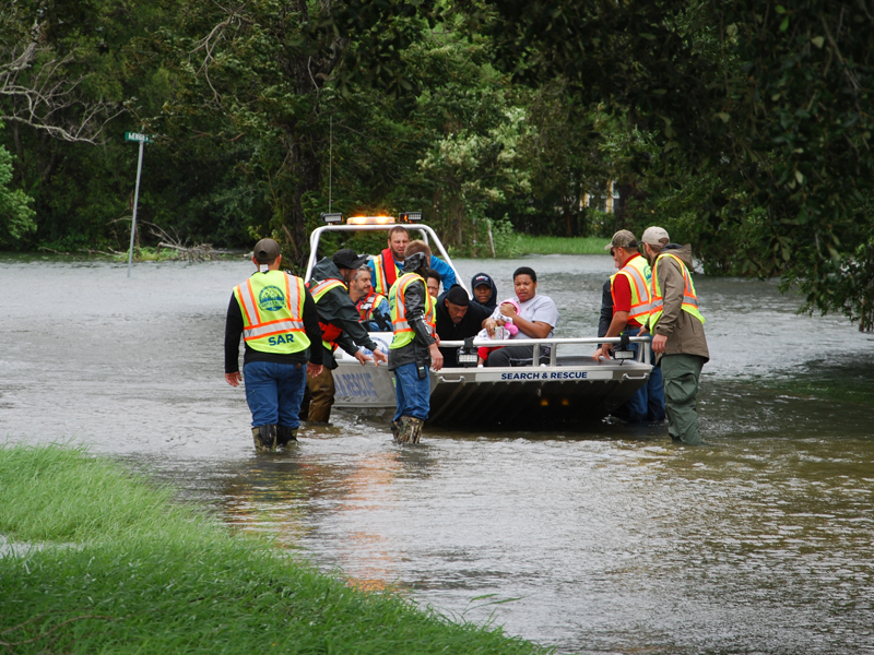 Cleanup underway in Texas