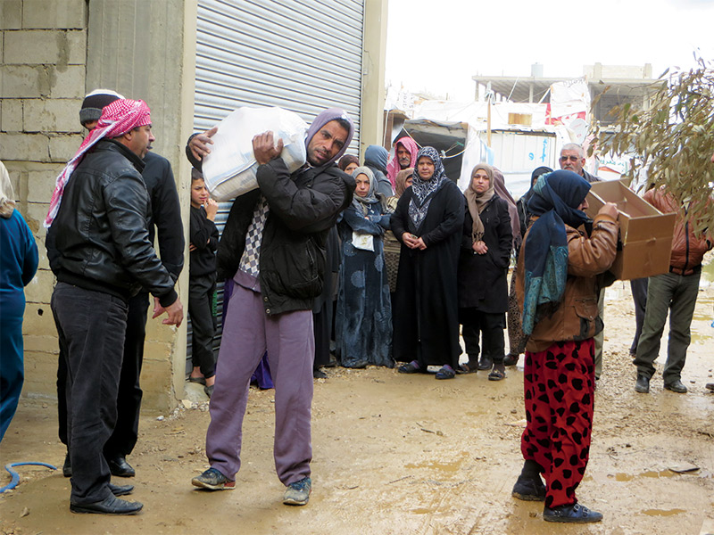 An Uncertain Future for Syrian Refugees