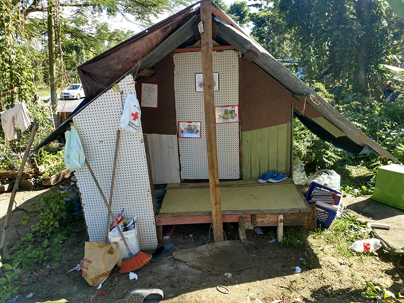 Rebuilding a Widows Home (Hurricane Maria)