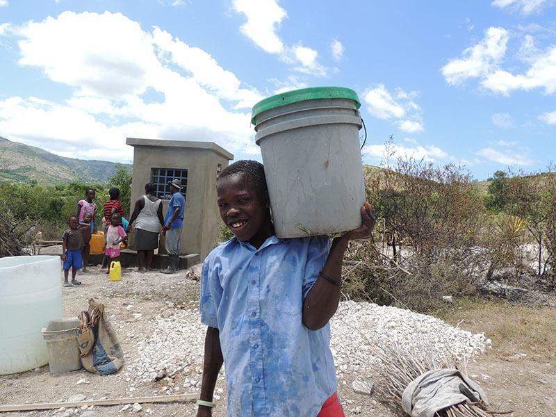 Clean Water, water station, La Source Haiti