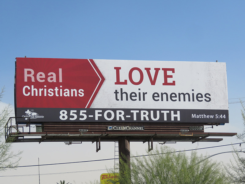Real Christians, Enemies