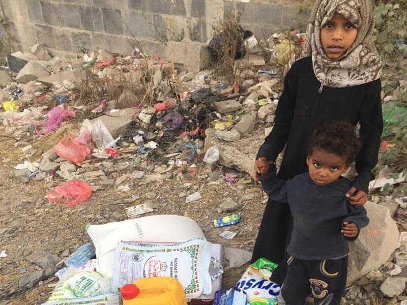 Hungry Children in Yemen