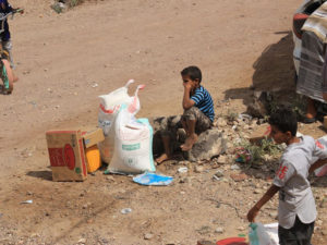 Food for War-Torn Yemen, Christian Aid Ministries