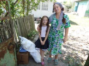 Aid for widowed Elena