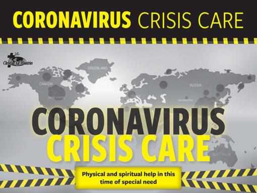 Caronavirus Crisis Care, feed our families, Christian Aid Ministries