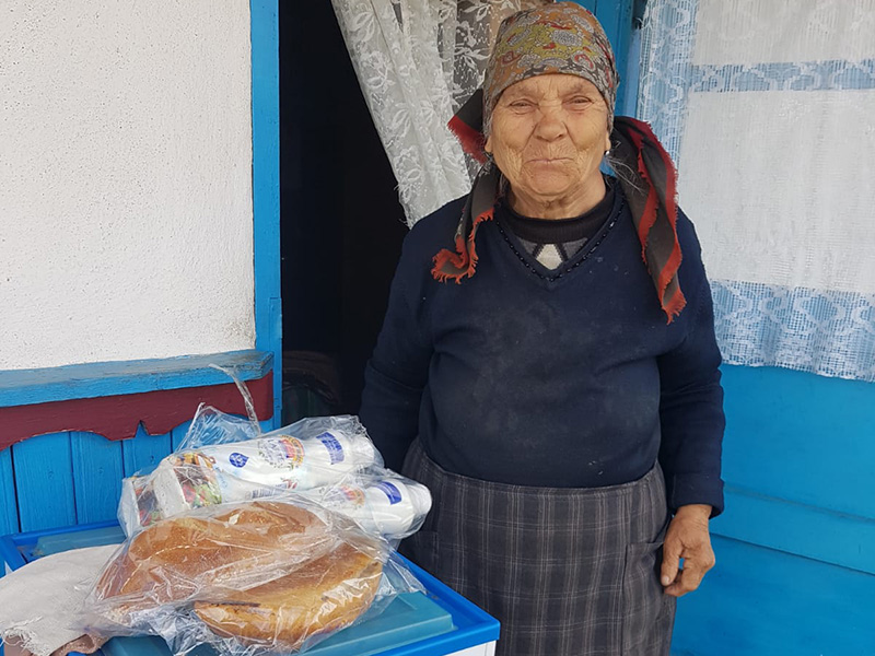 elderly Romanians, Christian Aid Ministries