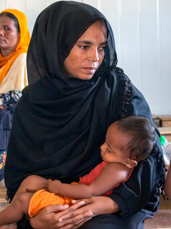 Rohingya Refugee, Christian Aid Ministries