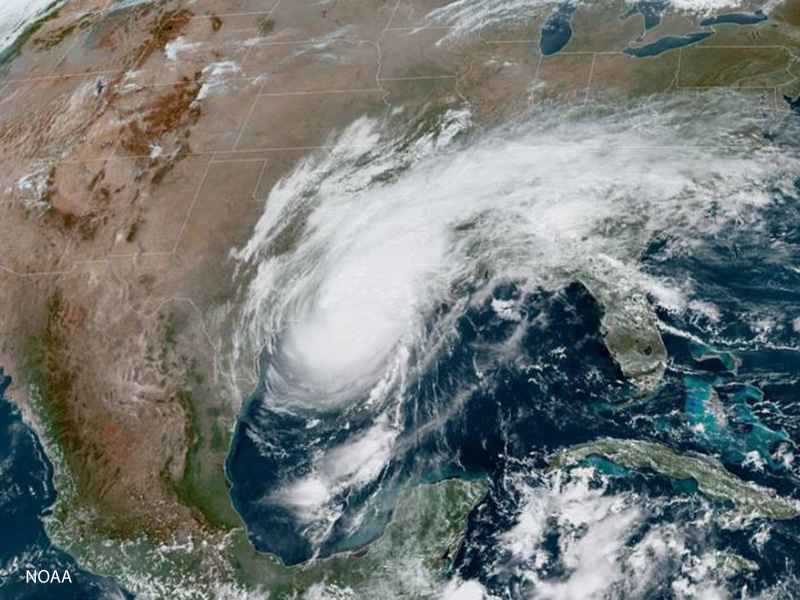 Hurricane Delta, Hurricane Laura