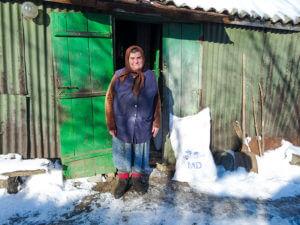 tears of gratitude, warm clothing, Christian Aid Ministries