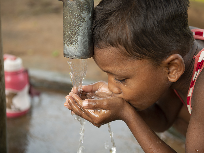 contaminated water, Christian Aid Minstries
